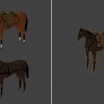 Wojna polsko-bolszewicka - modele koni